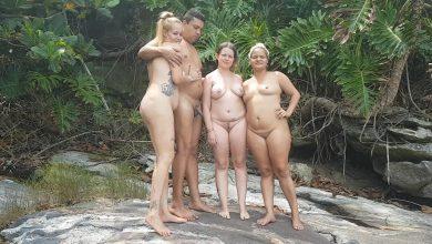 Photo of หนังโป๊แนวเอ้าท์ดอร์เอากันในป่า ปาร์ตี้เซ็กซ์หมู่กลางป่าเอาเมียมาแลกเปลี่ยนกันเย็ด